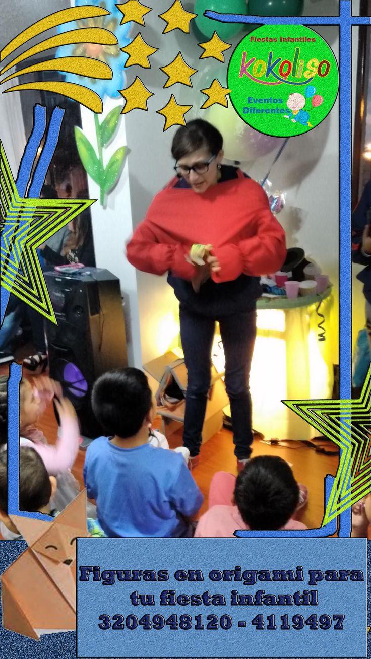 Increíbles talleres de origami, aprende cada paso para crear tu figura perfecta para que celebres tus fiestasinfantiles llamanos 3204948120-4119497