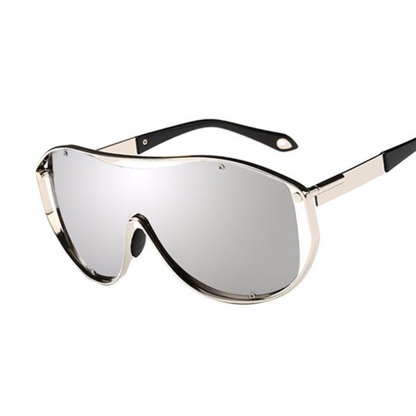 Lunettes De Soleil Big Frame Sunglasses Lunettes De Soleil à La Mode,A2