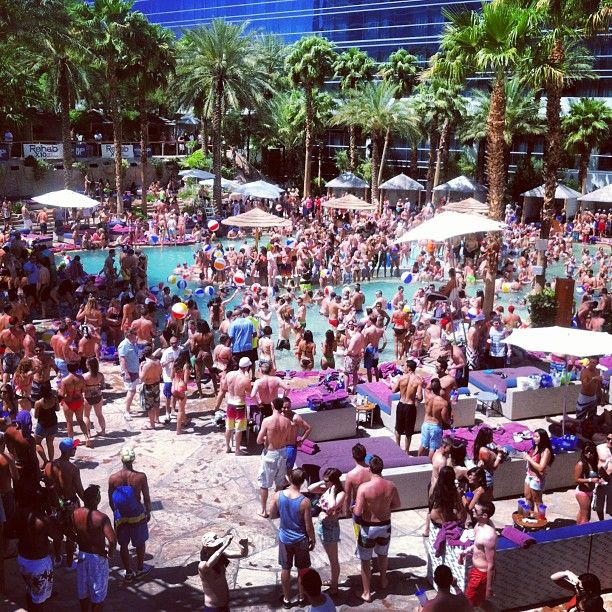 Rehab Pool Party in Las Vegas, NV