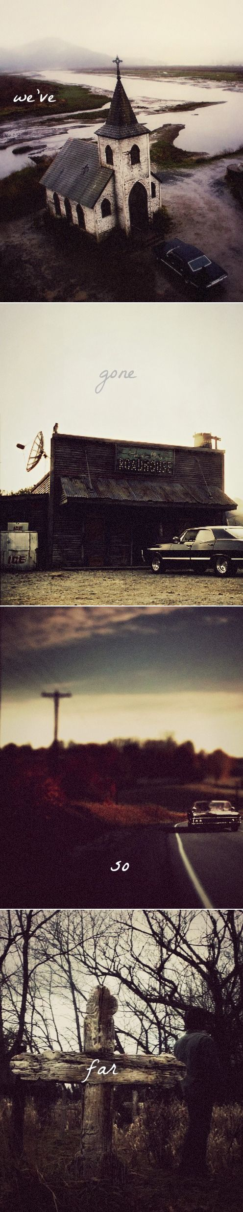 We've gone so far… #spn