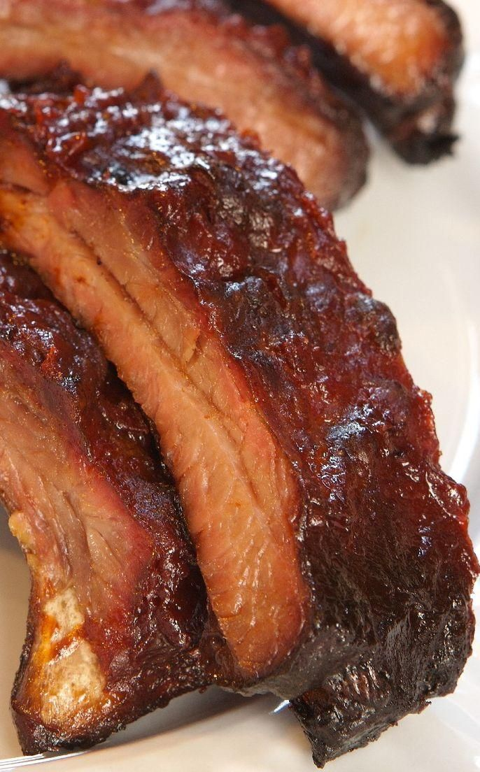 Should Be Illegal Oven BBQ Ribs - Love with recipe