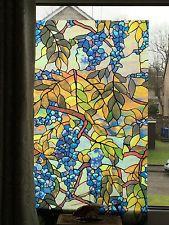 Dipinto Vetro Finestra Pellicola Colorate Decorative in Vinile privacy statico Decor carta