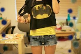 I decided to be batman today but I can always be superman if I want to! I do have my camera but I don't want people to know I take pictures... I do wish I was pretty like some of the popular girls or like every girl... ~ Cait