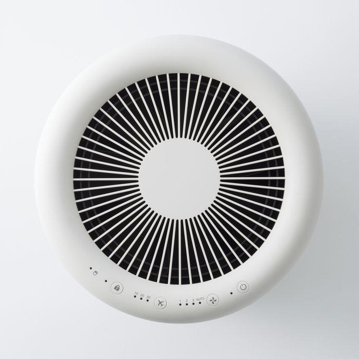 Muji Air Purifier air vent detail