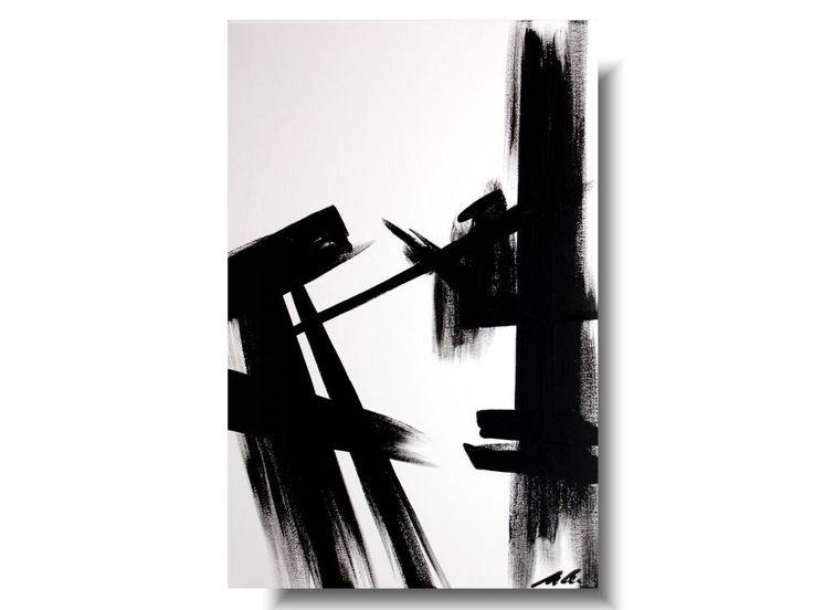 """Obraz abstrakcja """"Śląsk"""". Duży obraz abstrakcyjny ręcznie malowany na płótnie. Minimalistyczny obraz idealny do nowoczesnego wnętrza. #abstrakcja #obrazy #obrazyabstrakcja #obrazabstrakcyjny #obrazyabstrakcyjne"""