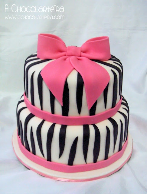 Animal Print - Zebra Cake