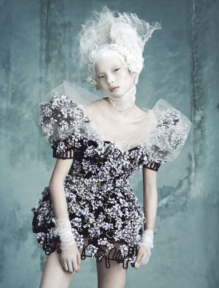 Vogue Germany April 2014 | Dolce & Gabbana Haute Couture | Luigi+Iango