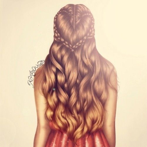 I love the way Kristina Webb draws hair.