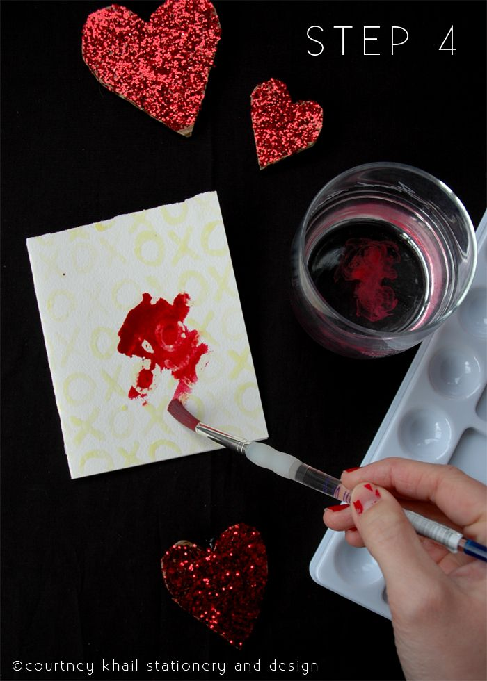 Valentine's Day - DIY Watercolor Valentines