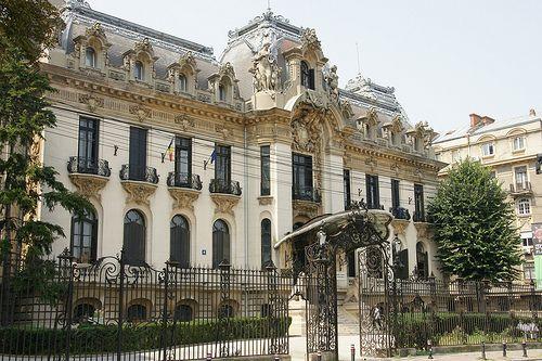 București (Bucharest, Romania) - Palatul Cantacuzino | Flickr - Photo Sharing!