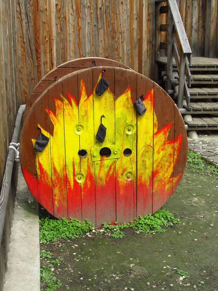 Gárdonyi Rönkvár - A tűzkerék Fotó: Czimbalmos Szilvia