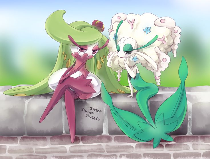 Tsareena and Florges