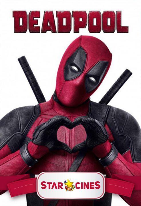 """Este """"San Valentín"""" te esperamos al Gran PreEstreno de #DeadPool... La cita es este domingo 14 de febrero a las 22h00... Entradas a la Venta en la Boletería de @StarCines... NOTA: Estreno Oficial - 19 de Febrero"""
