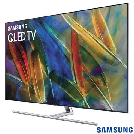 """Smart TV Samsung QLED 4K 55"""" com Modo Jogo, Connect Share™, Interação por Voz e Wi-Fi - QN55Q7FAMGXZD - SGQN55Q7FAPTA"""