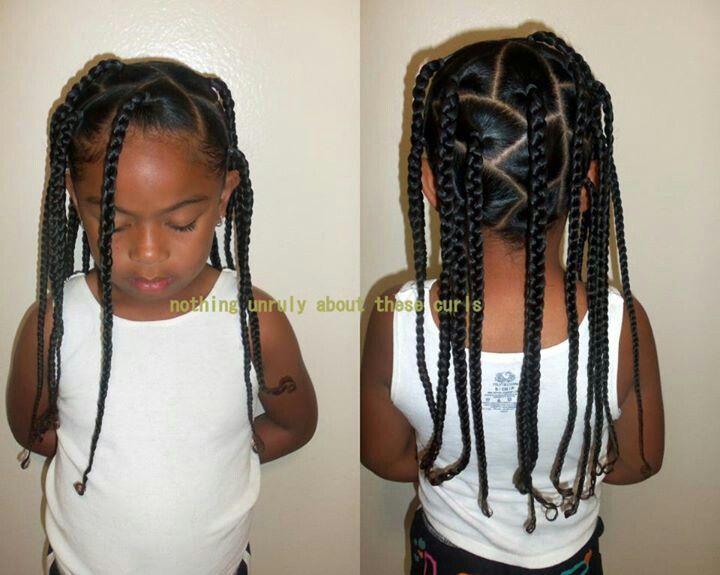 Baby Hair Styles Braids: Natural Kids: Box Braids