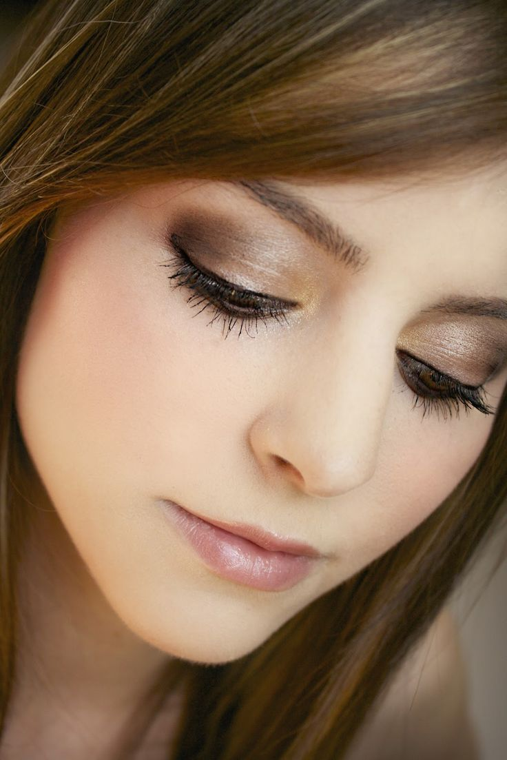 Everyday Smokey Netural Makeup # Lips