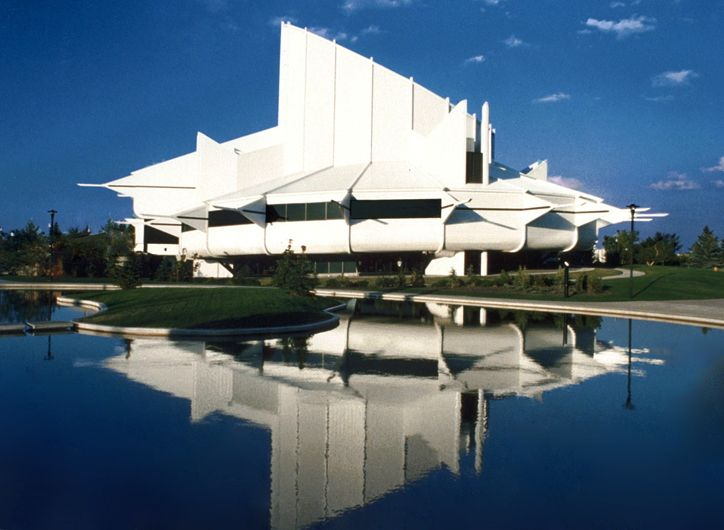 Edmonton Space Science Center, Edmonton, Alberta, 1983