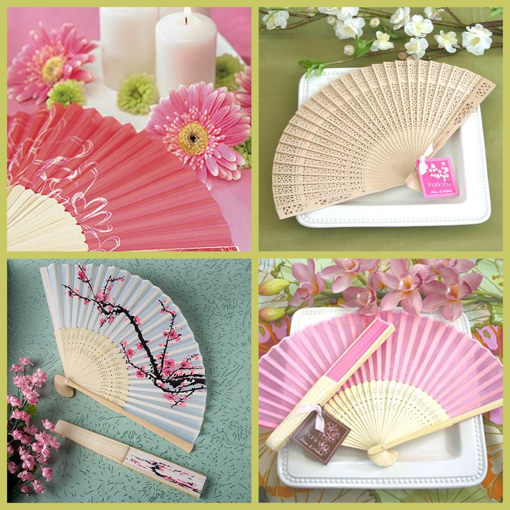 Hand Fan Wedding Favors from HotRef.com