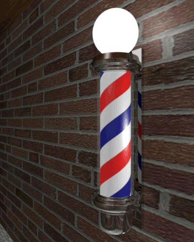 remember barber poles that turned?