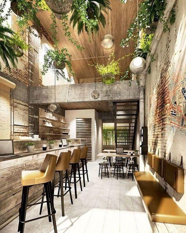 55 Brick Wall Interior Design Ideas Brick Interior Wall Cafe Design Interior Wall Design