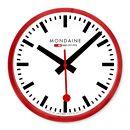 Small Swiss Railway Wall Clock - $195