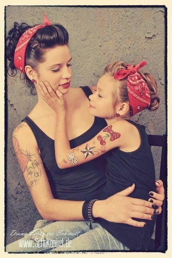 Mom and daughter idea