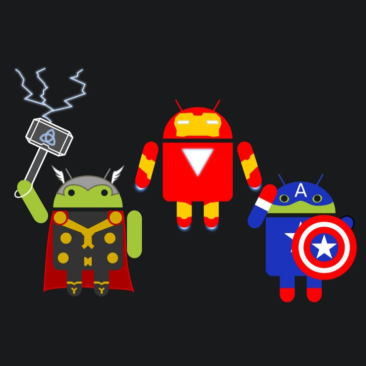 Androids Assemble