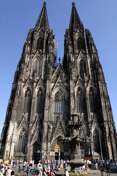Cologne Cathedral, Cologne, Germany- what an impressive cathedral. Loved Cologne