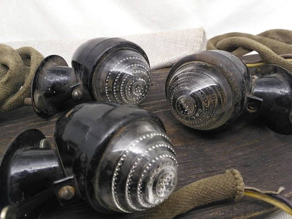 Industrial light fixture old car parts lights lamp salvage