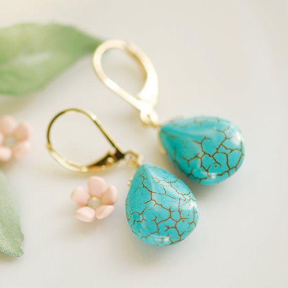 G&T Teardrop earrings