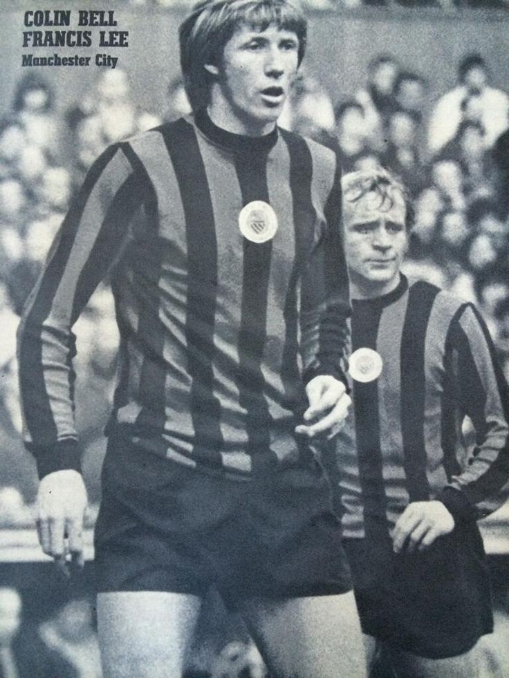 Colin Bell and Francis Lee