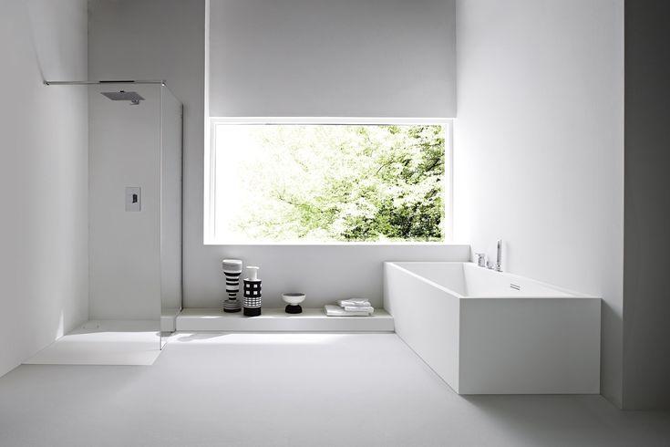 Téléchargez le catalogue et demandez les prix de Unico | baignoire rectangulaire By rexa design, baignoire rectangulaire en korakril™ design Imago Design, Collection unico
