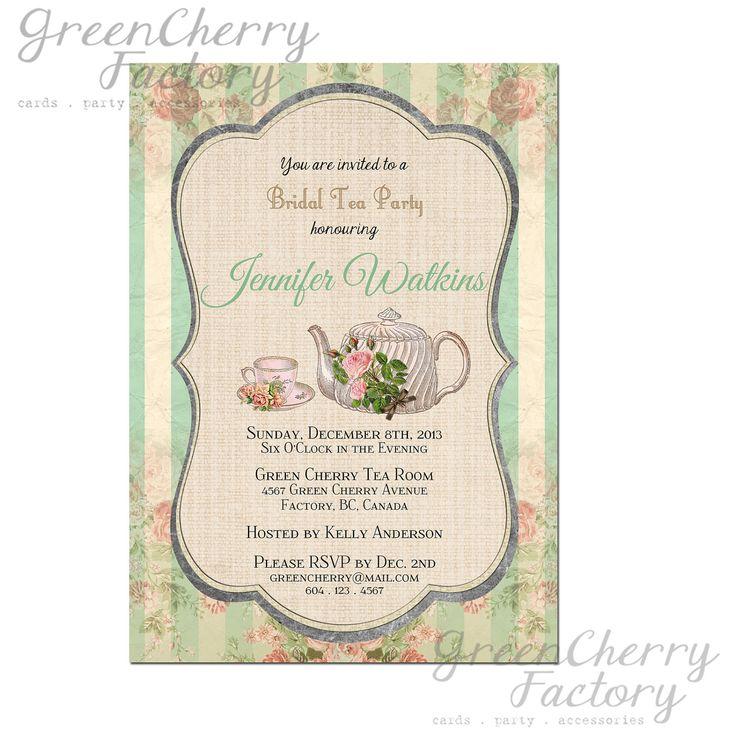 Best High Tea Party Ideas Images On   The Tea