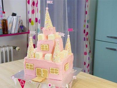 Recette en vidéo: Gâteau en forme de château de princesse