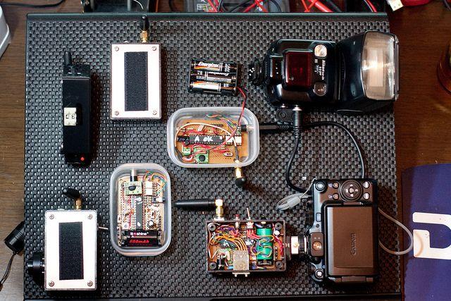Diy trigger flash arduino photography pinterest