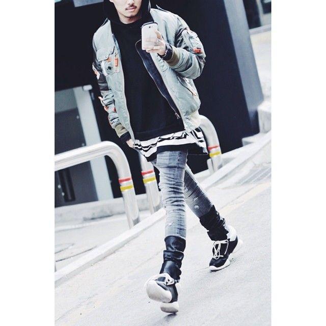 #DADA #fashion #fashionable #fashionkillers #follow #f4f #hype #hypebeast #highfashion #rickowens #bomber #liketit #likeback #likeme #lookbook #like4follow #trill #teamfollowback #ootd #outfit #outfitoftheday #clothing #DADApeople