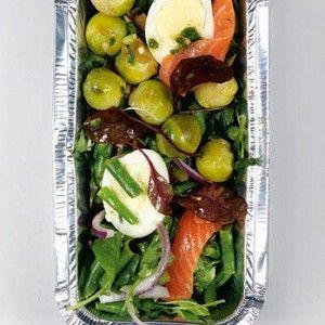 Зеленая фасоль с форелью, яйцами и сливочной брюссельской капустой рецепт – основные блюда. «Афиша-Еда»