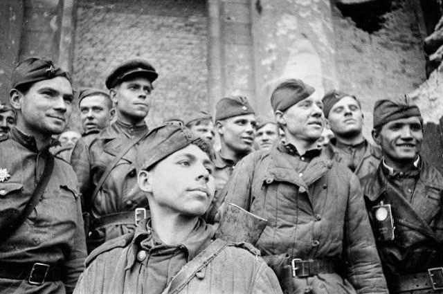 Russian Soldier in World War II