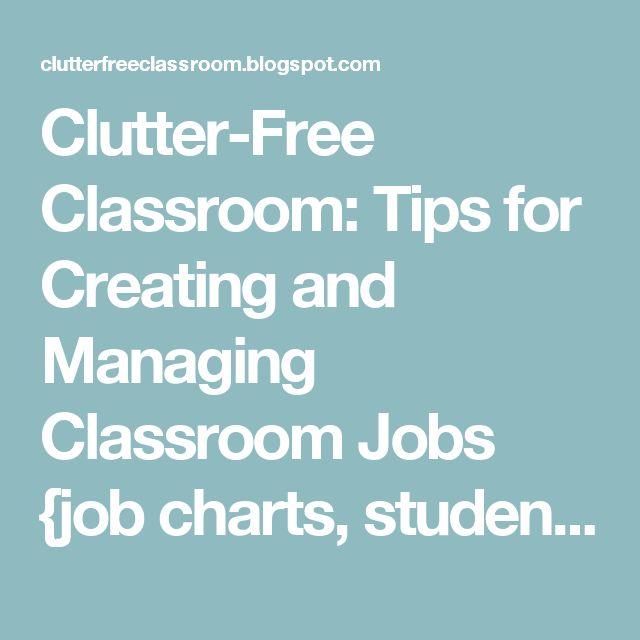 Best 25+ Student job chart ideas on Pinterest