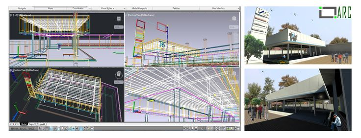 AUTOcad Visual
