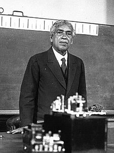 Sir Jagdish Chandra Bose, 30 November 1858 – 23 November 1937) was a polymath, physicist, biologist, biophysicist, botanist and archaeologist, as well as an early writer of science fiction.[6] Living in British controlled India, he pioneered the investigation of radio and microwave optics, made very significant contributions to plant science,