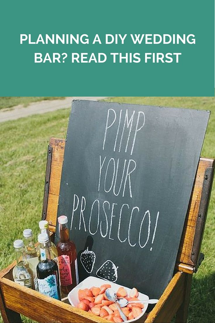Planning A DIY Wedding Bar? Read This First http://www.wedshed.com.au/planning-a-diy-wedding-bar-read-this-first/