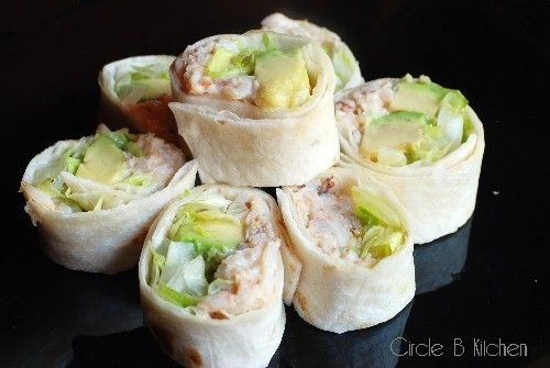 Crab & Avocado Rolls from Nigella Lawson