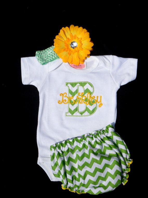 Personalized Baby Girl Clothes Newborn Girl Take Home