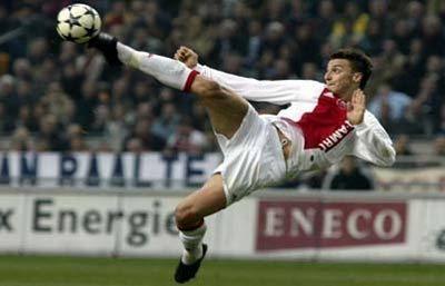 Zlatan Ibrahimovic bij Ajax