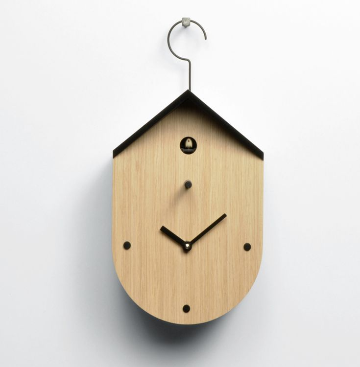 Amazing The Free Time Cucu Wall Clock Is A High Quality Timepiece From Progetti.  This Wooden Designer Cuckoo Clock Is Available To Buy From Red Candy!