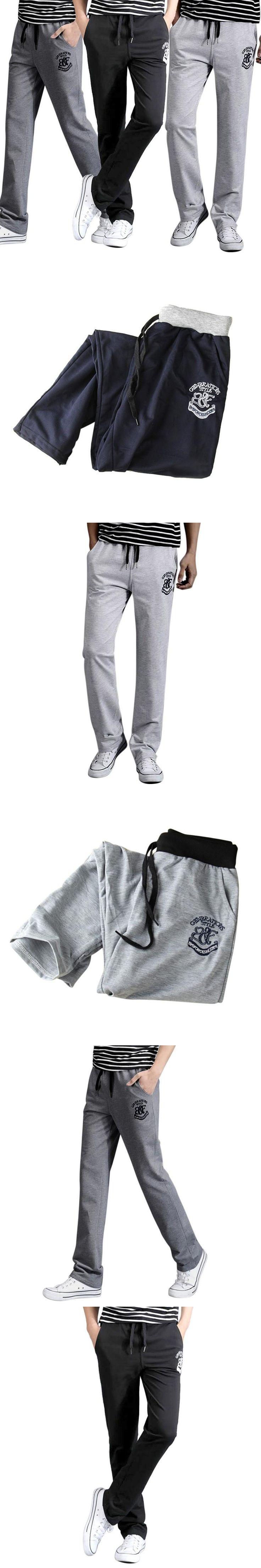 2017 Cargo Pants Men Bts Autumn Summer Pants English Alphabet Loose Joggers Fashion Casual New Long Trousers
