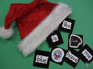 Sight word Christmas game