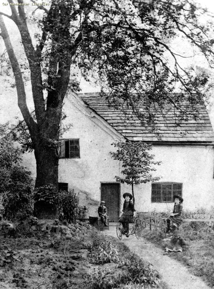 Moss Side, Farm at corner of Carlton Street and Moss Lane East (1898)