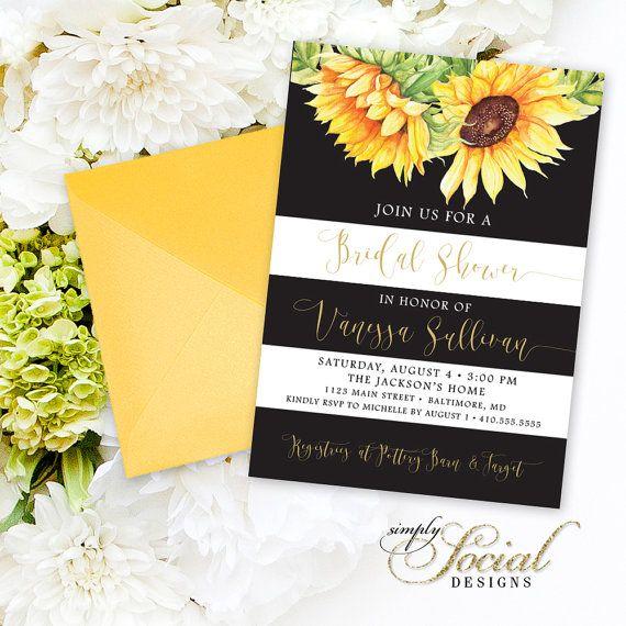 25+ Best Sunflower Bridal Showers Ideas On Pinterest